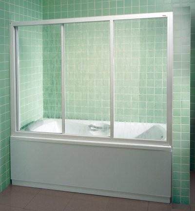 раздвижная шторка для ванны