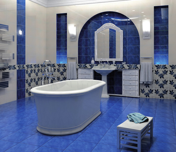 плитка для ванной береза керамика магия
