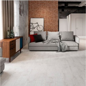Грес Cersanit Citywood 18.5х59.8 Light Grey интерьер