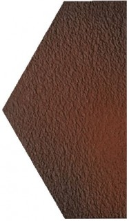 Половина Paradyz Cloud 14.8x26 brown duro