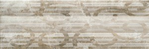 Плитка Cristal Ceramica Glamour 20x60 Decor Cream