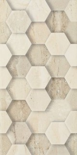 Плитка Paradyz Sunlight Decor Geometryk 30х60 Stone beige