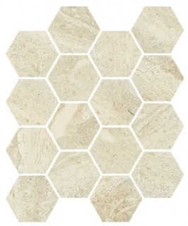 Мозаика Paradyz Sunlight Hexagon 22х25.5 Stone beige