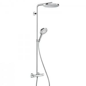 Душевая система Hansgrohe с термостатом Raindance Select S Showerpipe хром 27633000